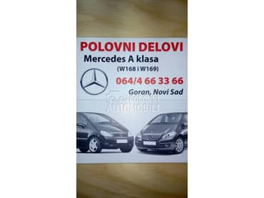 Delovi Mercedes A klasa od 1998. do 2012. god.
