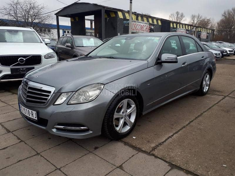 Mercedes Benz E 220 2.2CDI AVANTGARDE