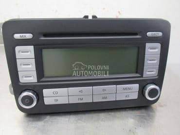 Radio CD ZA VISE MODELA za Volkswagen Caddy, Golf 5, Golf 6 ... od 2000. do 2010. god.