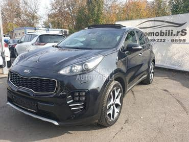 Kia Sportage 2.0Crdi/Aut/GTline