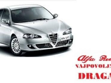 Radilica za Alfa Romeo 147 od 2000. do 2010. god.